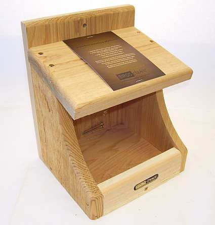 Robin houses robin roosting boxes robin nesting boxes for Dove bird house plans