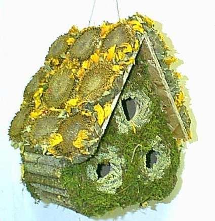 how to make a edible birdhouse