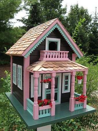 Home bazaar signature petoskey cottage bird house distinctive and