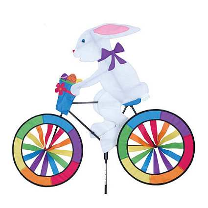 Premier designs bunny bicycle garden spinner large bunny for Garden spinners premier designs