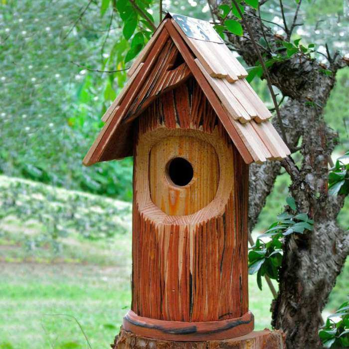 The Woodcutter Bird House