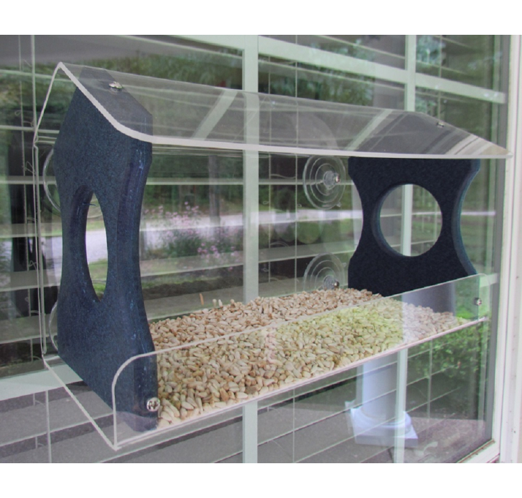 Recycled Poly Window Feeder Large Blue
