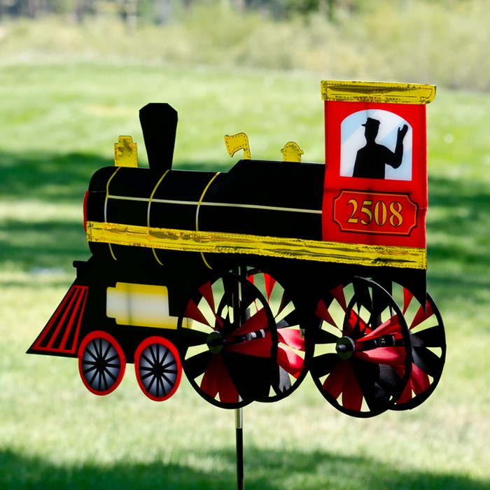 Classic Steam Engine Spinner 24