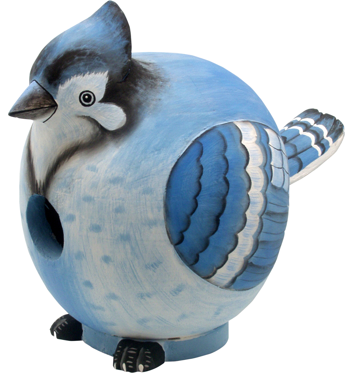 For The Birds Gord-O Blue Jay Bird House