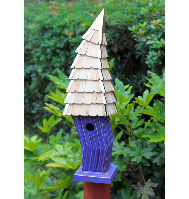 Birdiwampus Birdhouse Purple
