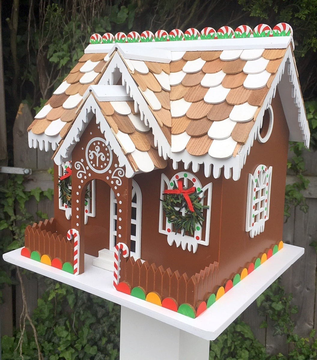 Candy Cottage Bird House
