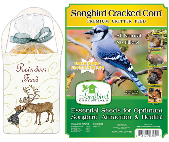 Reindeer Feed Holiday Gift 5-Bag Kit with Feed