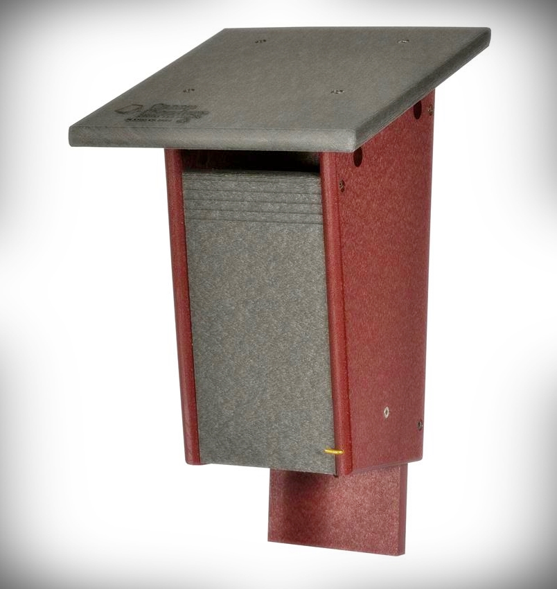 Amish Recycled Poly Sparrow Resistant Bluebird Box
