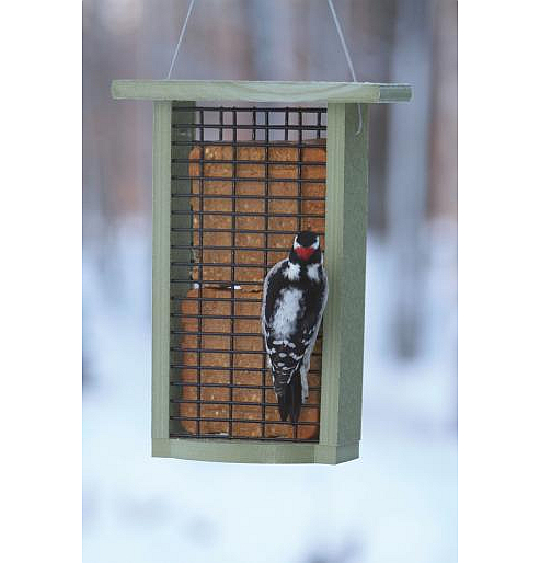 Green Solutions Recycled Double Suet Feeder