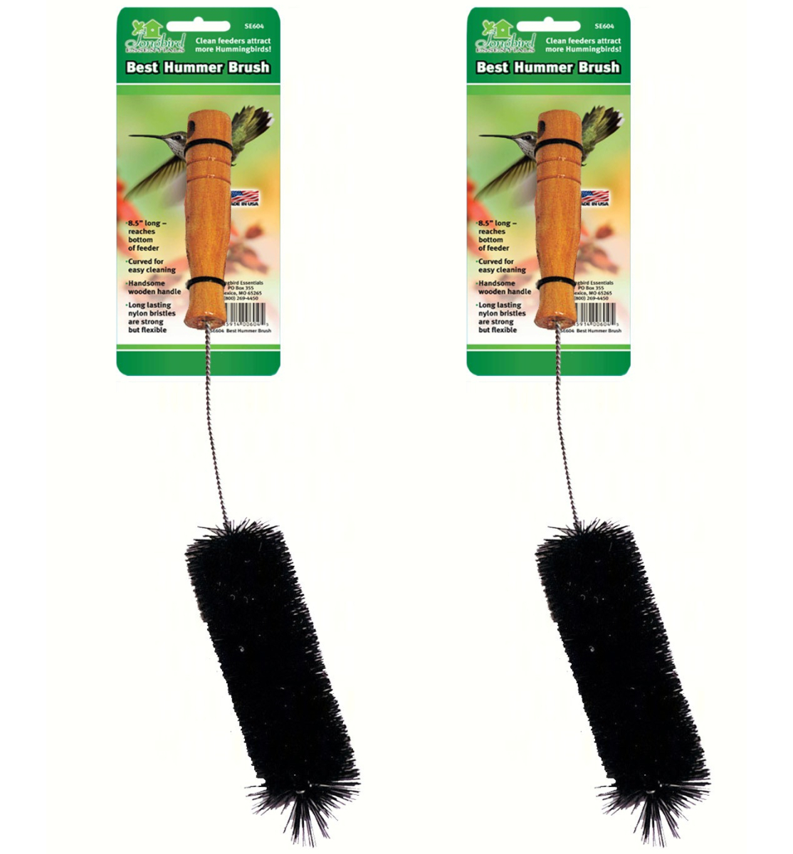 Best Hummer Brush Set of 2
