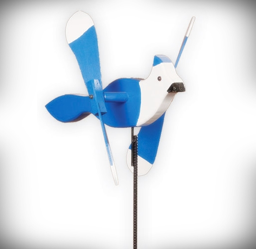 Whirly Bird Blue Jay Spinner
