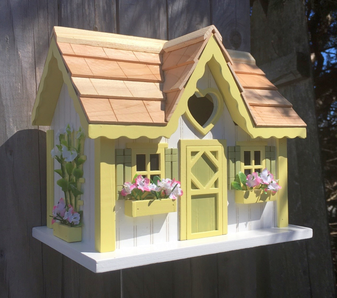 Sweetheart Cottage Birdhouse