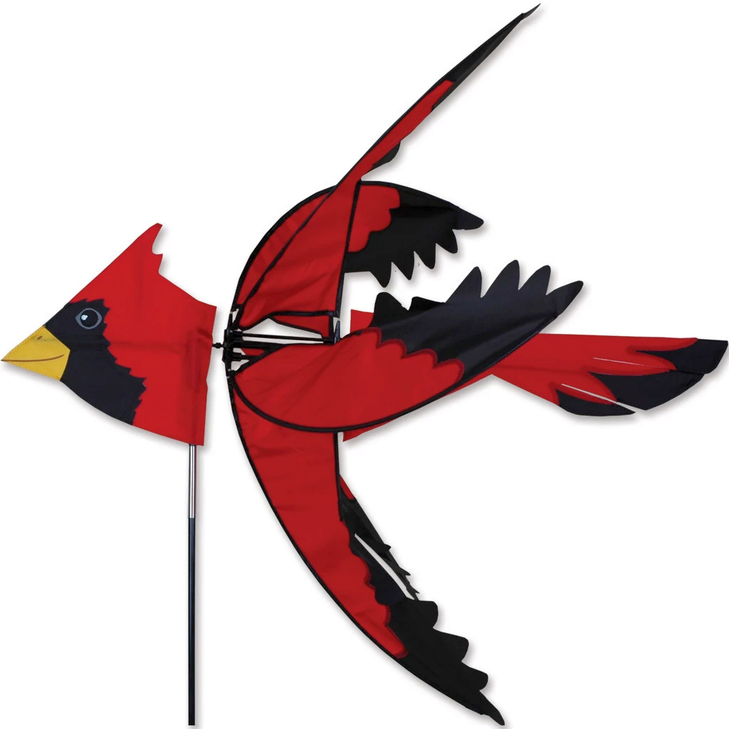 Flying Cardinal Wind Spinner Large