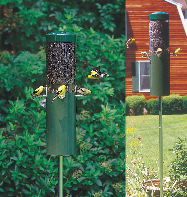 Classic Feeder w/Built-in Squirrel Baffle and Pole