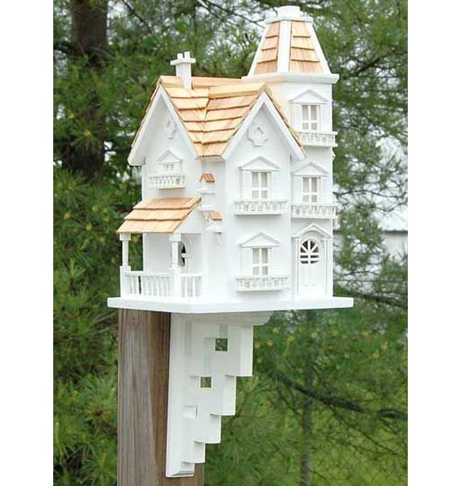 Classic Victorian Manor Bird House