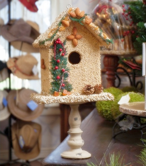 Juniper Bed & Breakfast Edible Birdhouse