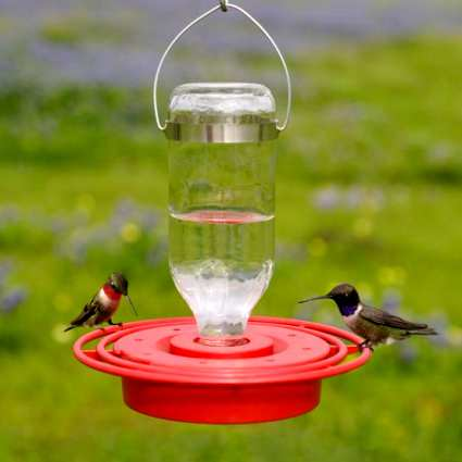 Best-1 8 oz Hummingbird Feeder Twin Pack