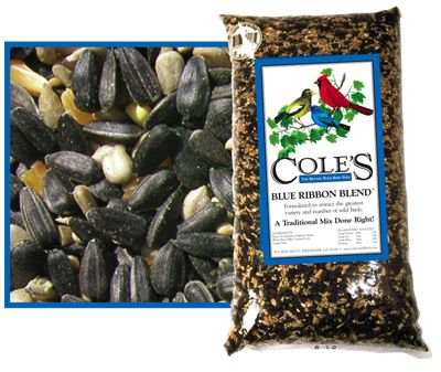 Cole's Blue Ribbon Bird Seed Blend 10#