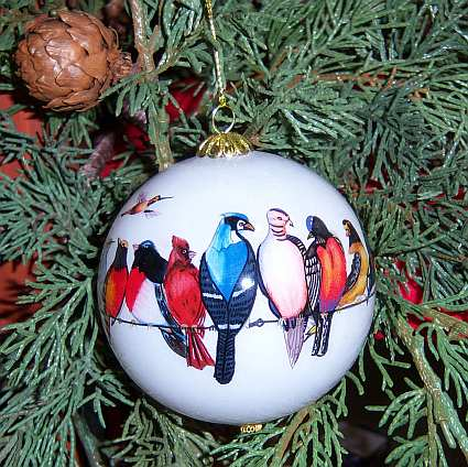 Songbird Series Chorus Line Ornament