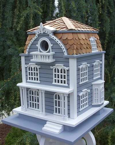 Signature Sag Harbor Birdhouse with Mansard Roof