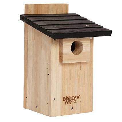 Nature's Way Cedar Bluebird Box w/Viewing Window