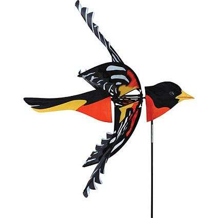 Flying Northern Oriole Wind Spinner
