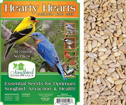 Songbird Hearty Hearts Bird Seed 20#