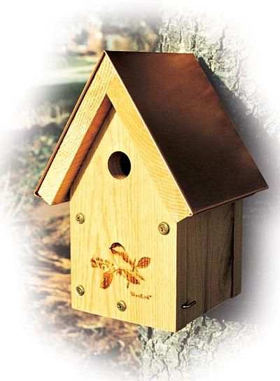 Woodlink Coppertop Chickadee and Wren House