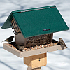 Second Nature 7 Quart Hopper Feeder w/Angled Suet Cages