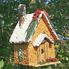 Holiday House Edible Bird House