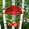 Hummer Helmet Hummingbird Feeder Weather Dome