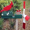 Wood Classics Cardinal Nest Whirligig