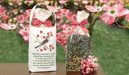 Good Luck Everyday Bird Seed Gift Bag