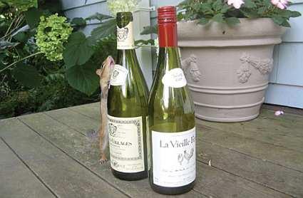 Alice's Cottage Wine Caddy