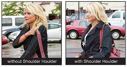 All Around Shoulder Houlder Black