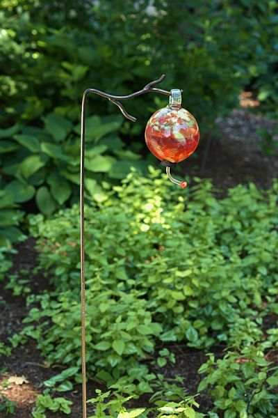 Metal Twig Garden Stake Hangers Set Of 6 Garden Stake