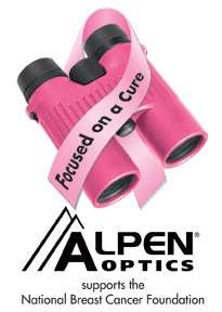 Alpen Optics Supports The National Breats Cancer Foundation