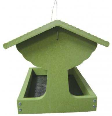 Green Solutions Fly-Through Bird Feeder