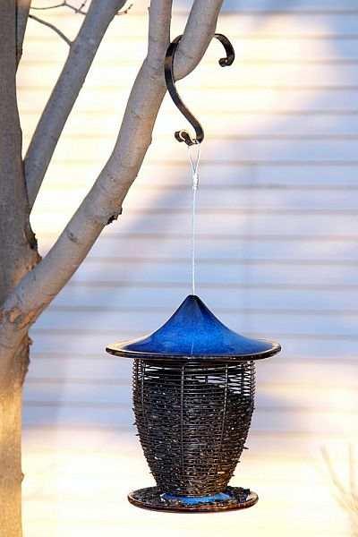 Alcyon Porcelain Bird Feeder