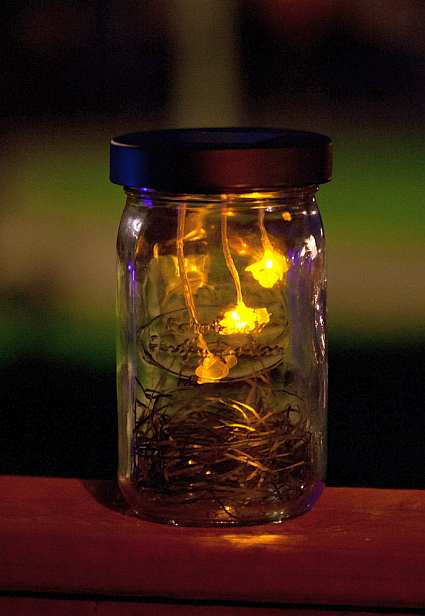 Firefly Lantern at night!