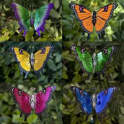 WindyWings Butterfly Garden Stakes