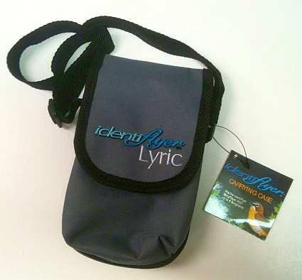 BirdSong Identiflier Lyric Carrying Case