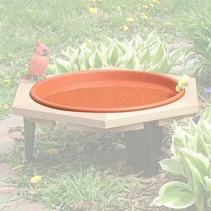 """Classic 17"""" Replacement Bird Bath Pan"""