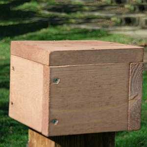 4x4 Post Mount