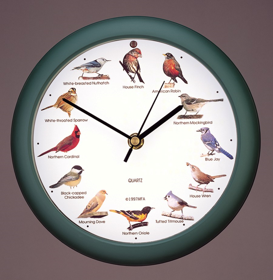 Original Singing Bird Wall Clock Ltd Edition 8