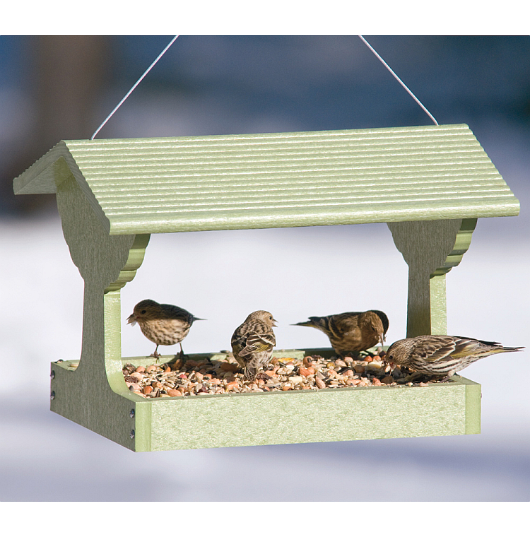 Green Solutions Fly-Through Feeder