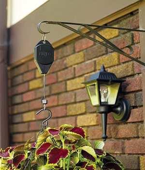 Hi-Lo Adjustable Hanger - Great for hanging baskets or bird feeders!