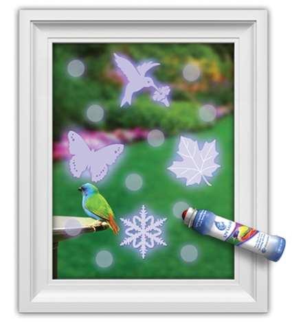 WindowAlert UV Liquid Bird Collision Deterrent