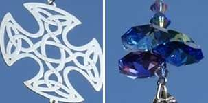 Crystal Fantasy Suncatcher Celtic