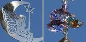 Crystal Fantasy Suncatcher Fairy